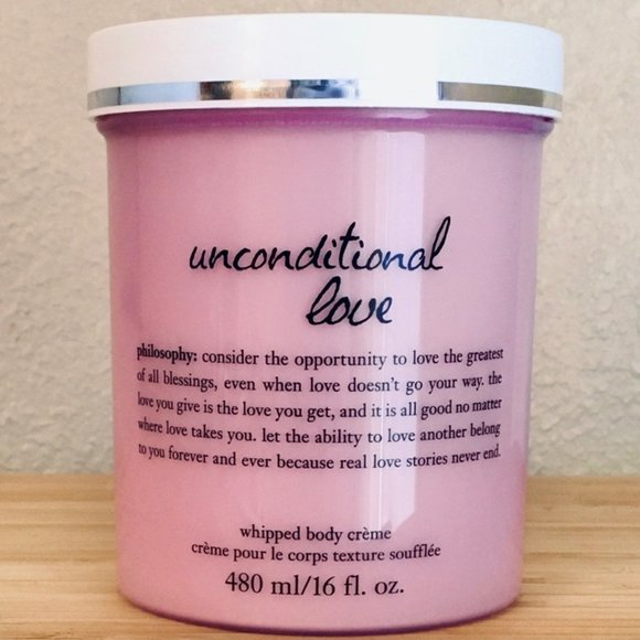 Philosophy 16 oz Unconditional Love Body Creme